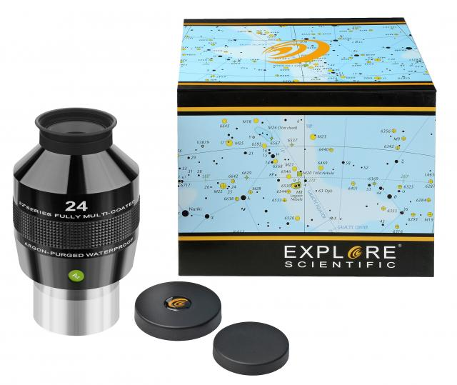 "EXPLORE SCIENTIFIC 82° Ar Eyepiece 24mm (2"")"