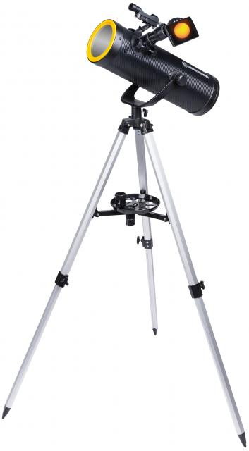 BRESSER Solarix Telescope 114/500 with Solar Filter