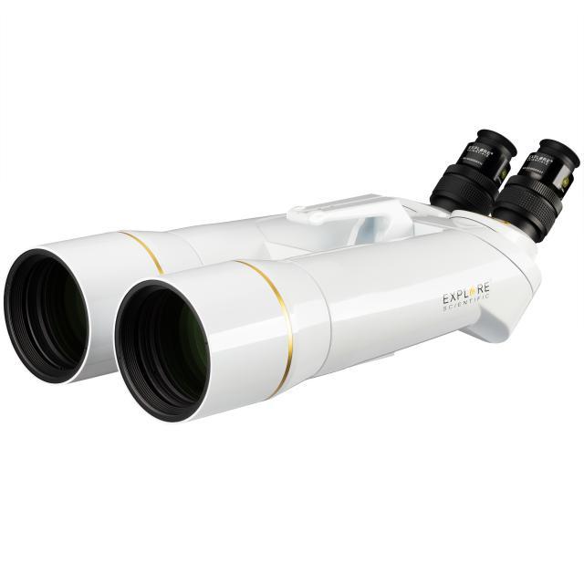 EXPLORE SCIENTIFIC BT-82 SF Giant Binocular with 62° LER Eyepieces 20mm