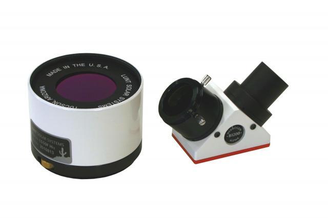 LUNT LS50FHa/B1200d1 H-alpha solar filter
