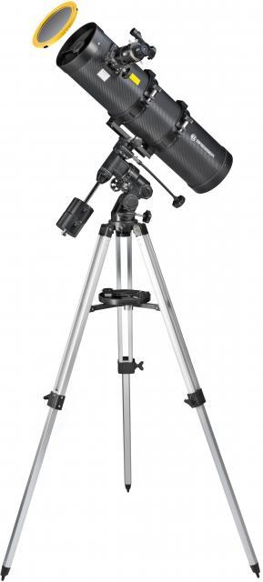BRESSER Pollux 150/750 EQ3 Telescope with Solar-Filter