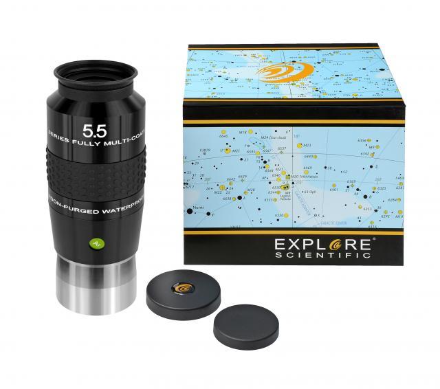 """EXPLORE SCIENTIFIC 100° Ar Eyepiece 5,5mm (2"""")"""