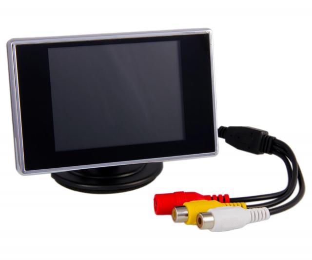 """Revelation 3.5"""" LCD Video Monitor 12v"""