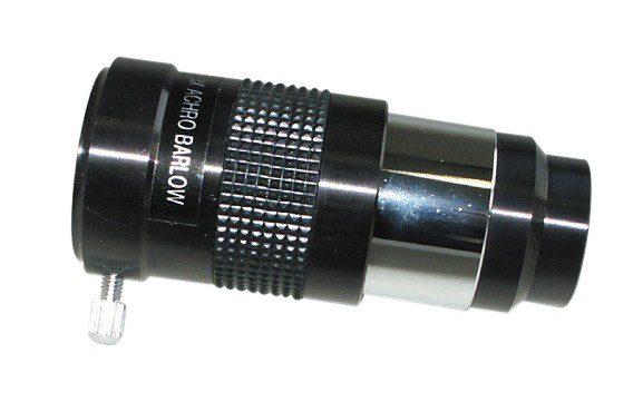 "BRESSER Achromatic 3x (1.25"") Barlow Lens"
