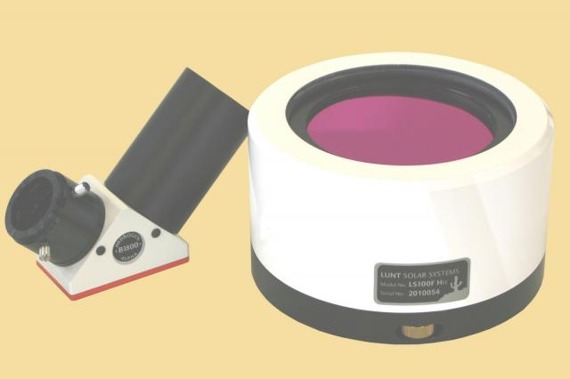 LUNT LS100FHa/B1800d2 H-alpha solar filter