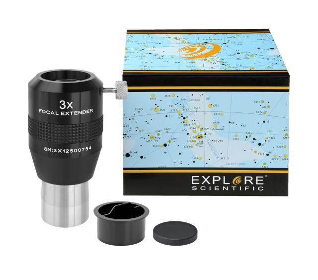 """EXPLORE SCIENTIFIC Telextender 3x 31.7mm/1.25"""""""