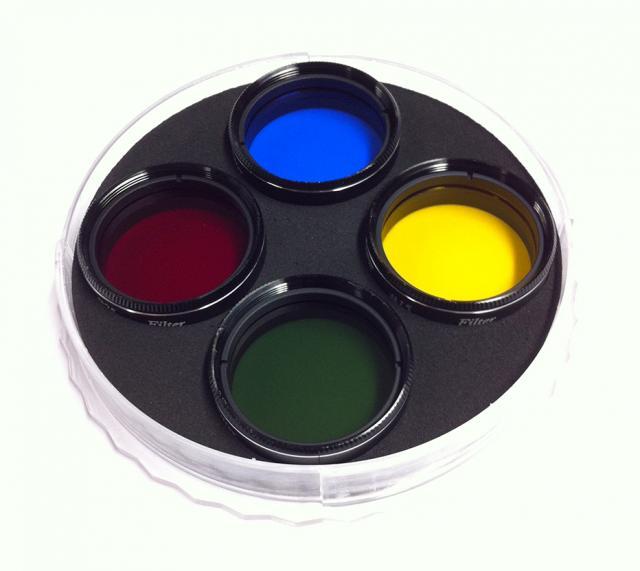 "Revelation 4 in 1 Colour Filter Kit (#15 #25 #58 #80A) 1.25"""