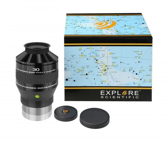 """EXPLORE SCIENTIFIC 100° Ar Eyepiece 30mm (3""""/76,2mm)"""