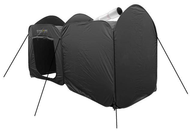 EXPLORE SCIENTIFIC Two-Room Pop-UP Observatory Tent / Weather protection for telescopes