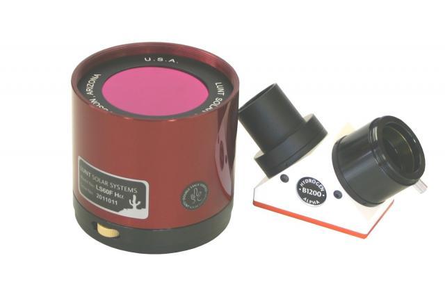 LUNT LS60FHa/B1200d1 H-alpha solar filter
