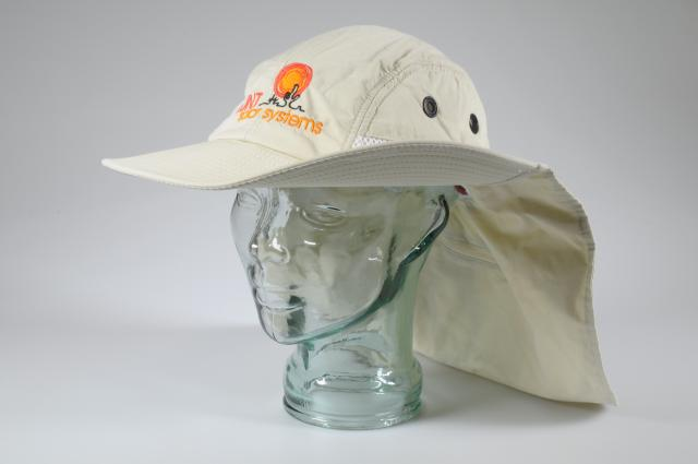 LUNT HAT solar hat with neck flap