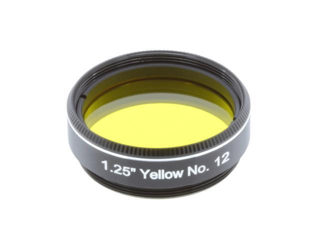 "EXPLORE SCIENTIFIC Filter 1.25"" Yellow No.12"