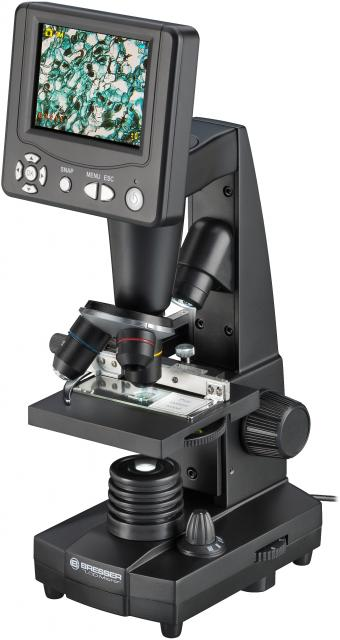 "BRESSER LCD Student Microscope 8.9cm (3.5"")"