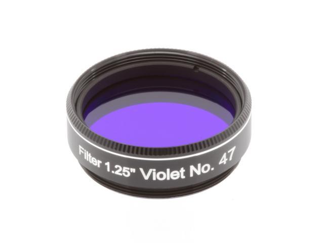"""EXPLORE SCIENTIFIC Filter 1.25"""" Violet No.47"""