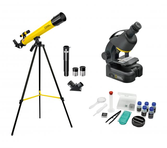 NATIONAL GEOGRAPHIC Telescope + Microscope Set for Advanced Users
