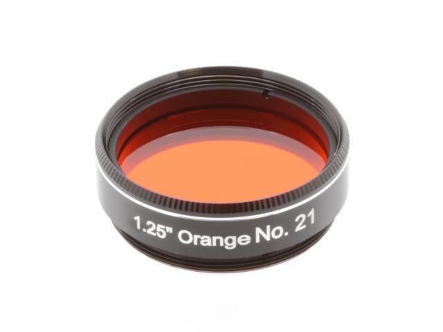 """EXPLORE SCIENTIFIC Filter 1.25"""" Orange No.21"""