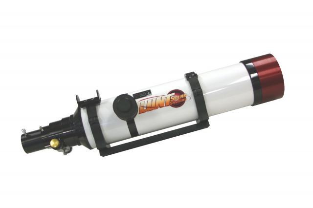 LUNT LS100THa/B3400 H-alpha solar telescope