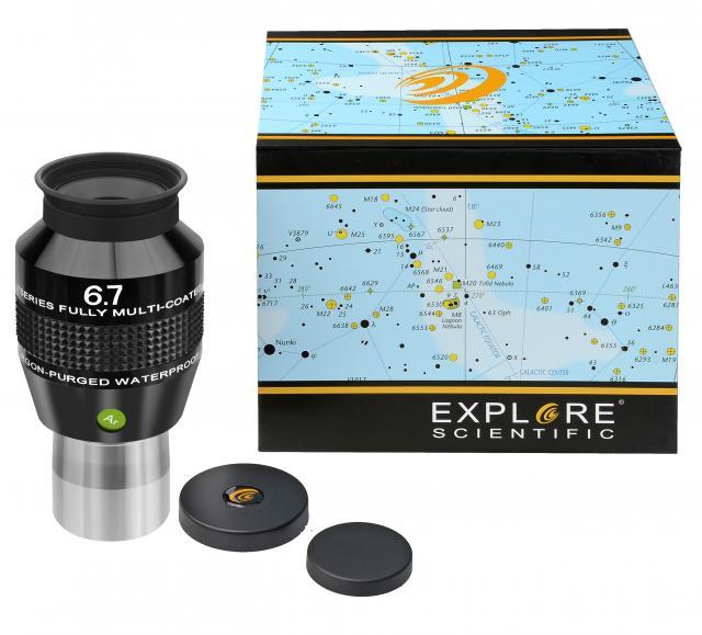"""EXPLORE SCIENTIFIC 82° Ar Eyepiece 6,7mm (1,25"""")"""