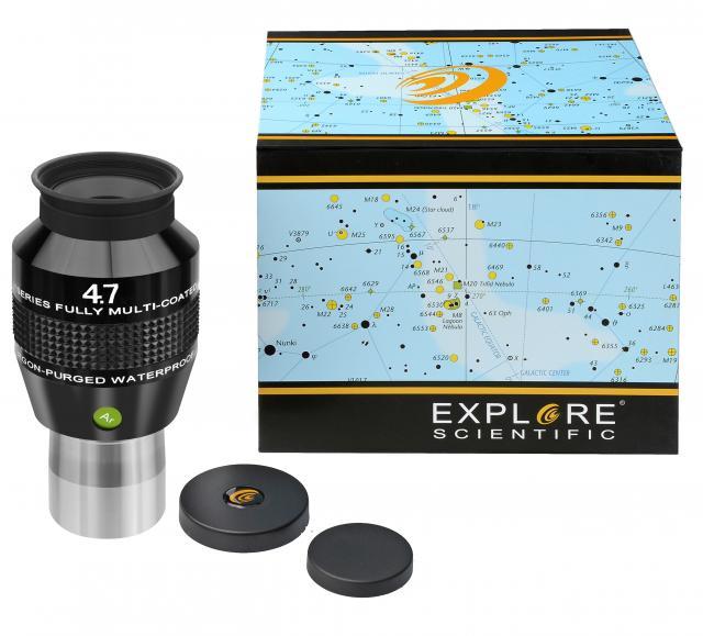 """EXPLORE SCIENTIFIC 82° Ar Eyepiece 4,7mm (1,25"""")"""