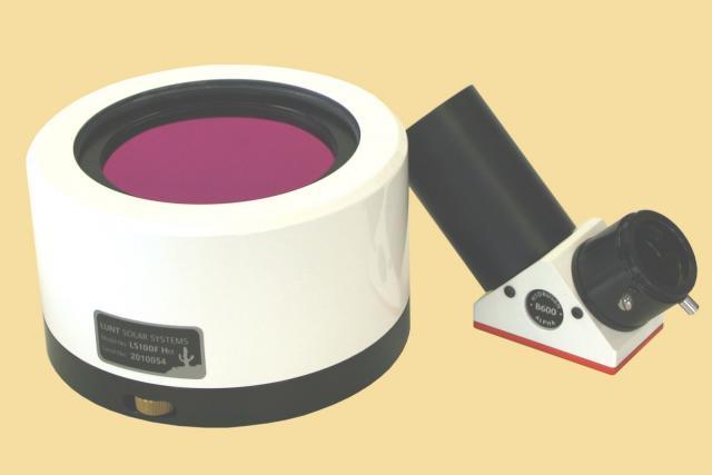 LUNT LS100FHa/B600d2 H-alpha solar filter