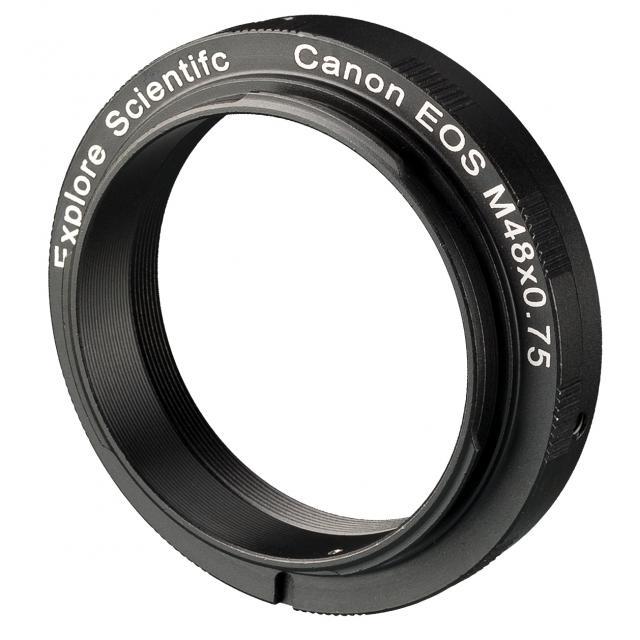 EXPLORE SCIENTIFIC Camera-Ring M48x0.75 for Canon EOS