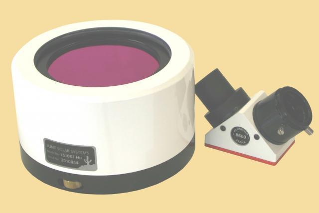 LUNT LS100FHa/B600d1 H-alpha solar filter