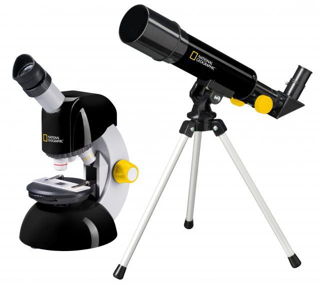 NATIONAL GEORAPHIC Telescope + Microscope Set