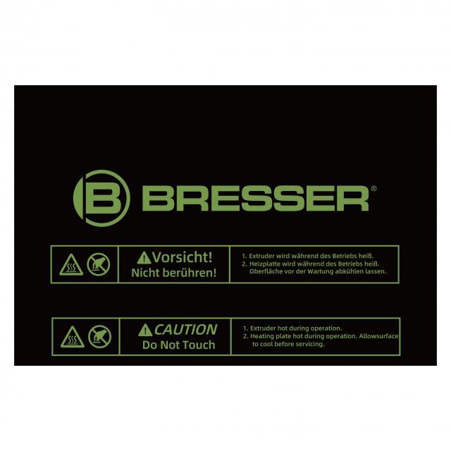 BRESSER Replacement build platform for T-REX 2 3D printer (item no. 2010600)