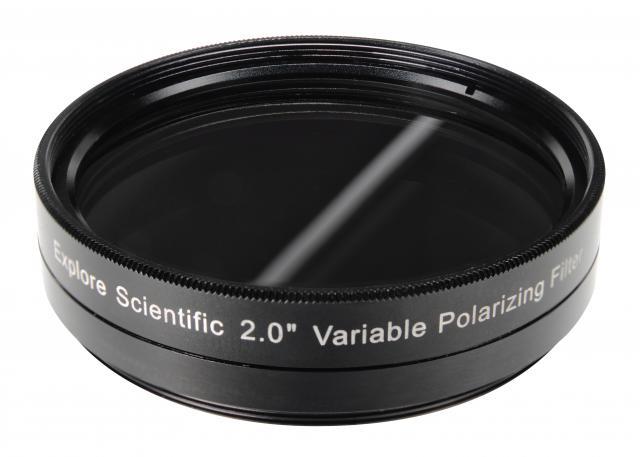 """EXPLORE SCIENTIFIC 2"""" Variable Polarizing Filter"""