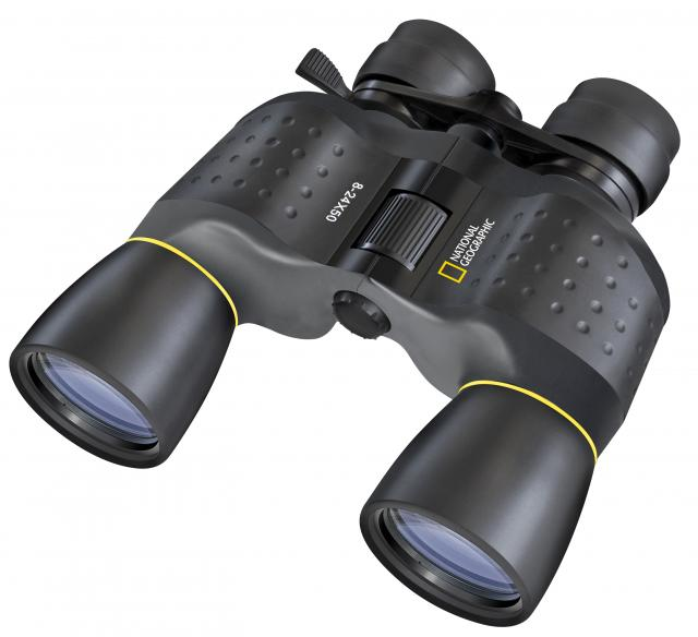 NATIONAL GEOGRAPHIC 8-24x50 Zoom Binoculars