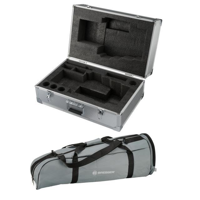 BRESSER Carry Case and Tripod Softbag Kit for MCX102/127 GoTo telescopes