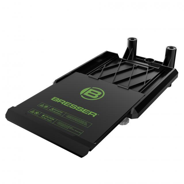 BRESSER Replacement build platform assembly for SAURUS 3D printer (item no. 2010300)