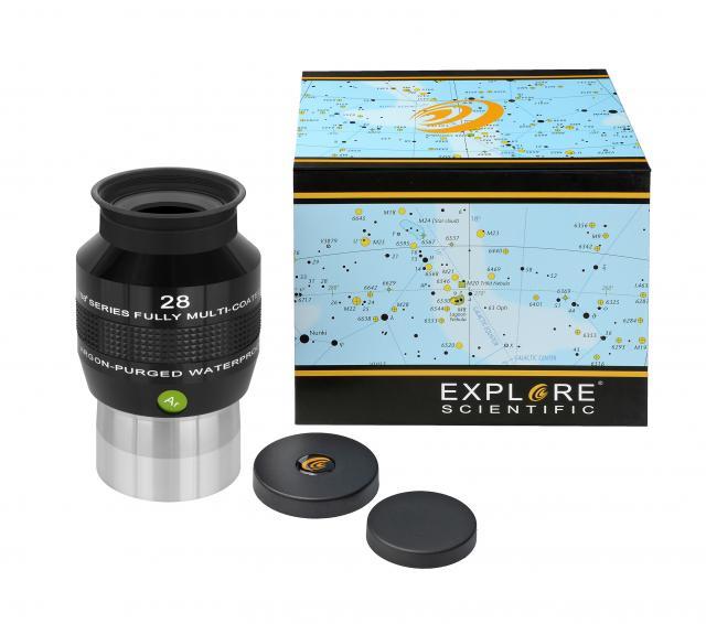 """EXPLORE SCIENTIFIC 68° Ar Eyepiece 28mm (2"""")"""