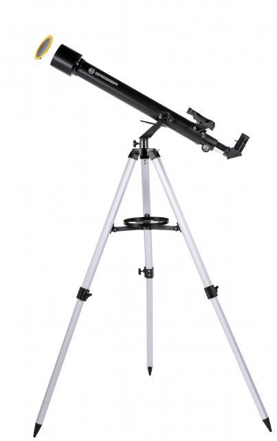 BRESSER Arcturus 60/700 AZ carbon design - Refractor telescope with Smartphone Camera Adapter