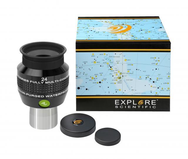 """EXPLORE SCIENTIFIC 68° Ar Eyepiece 24mm (1,25"""")"""