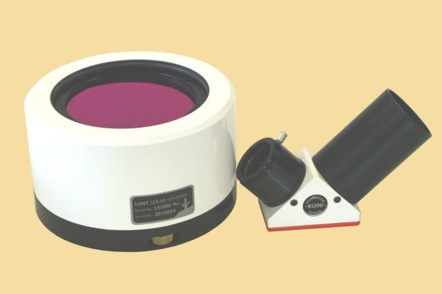LUNT LS100FHa/B1200d2 H-alpha solar filter